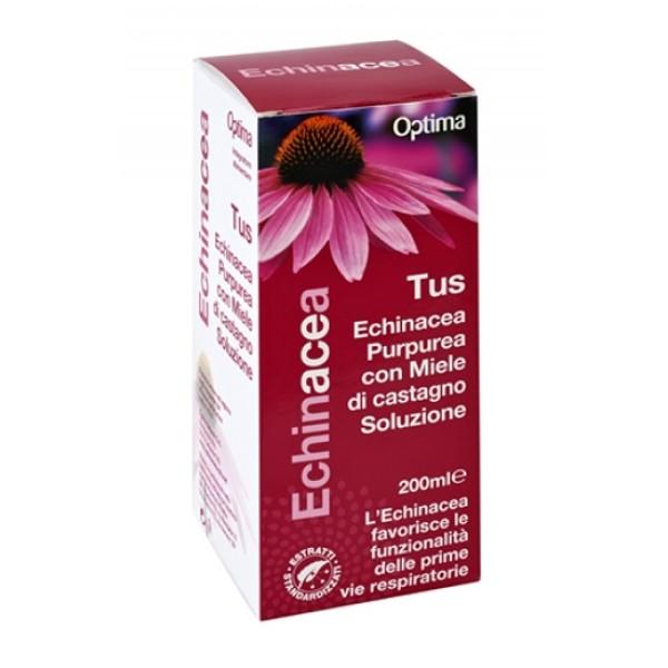 Optima Echinacea Tus 200 ml - Integratore Vie Respiratorie
