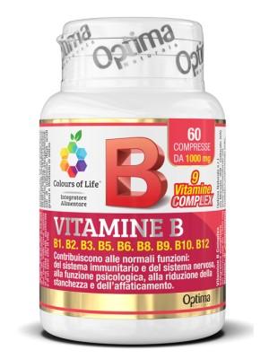 Optima Colour of Life Vitamina B Complex 60 Compresse - Integratore Multivitaminico