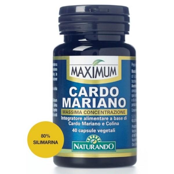 Maximum Cardo Mariano 40 Capsule - Integratore Alimentare