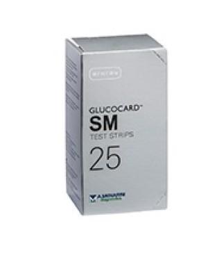 Glucocard SM Strisce Reattive 25 pezzi