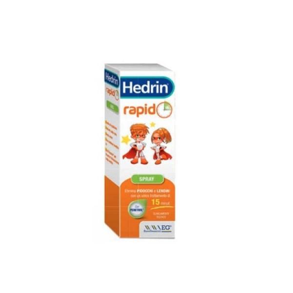 Hedrin Rapido Spray Antipediculosi 60 ml