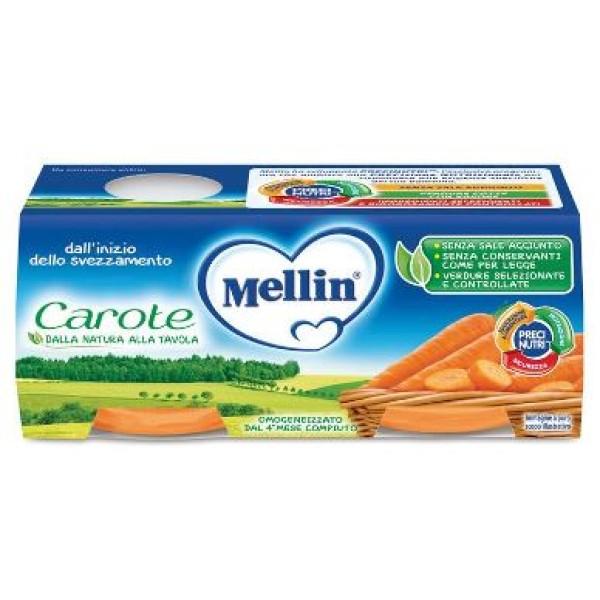 Mellin Omogeneizzato Carote 2 x 80 grammi