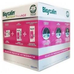 Bioscalin Tricoage Sistema Capelli Donna Compresse + Siero + Shampoo