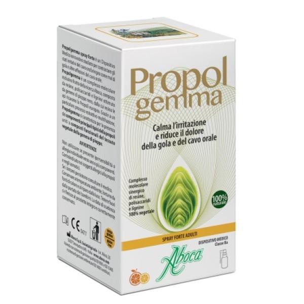 Aboca Propolgemma Spray Forte Adulti Irritazione Cavo Orale 30 ml