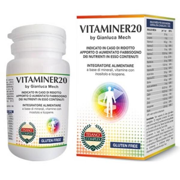 Vitaminer 20 Gianluca Mech 30 Compresse - Integratore Alimentare