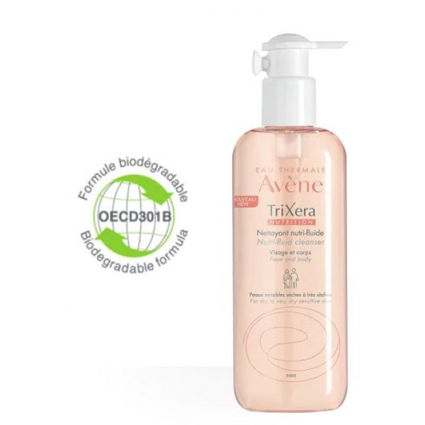 Avene Trixera Nutrition Detergente Pelle Secca 400 ml