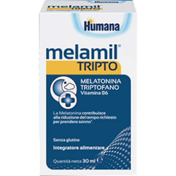 Humana MelaMil Tripto Gocce Integratore Alimentare per il Sonno 30 ml