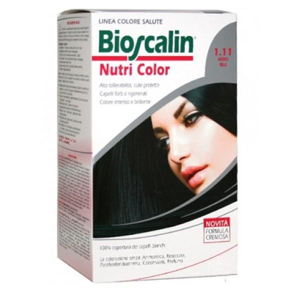 Bioscalin Nutri Color 1.11 Nero Blu Trattamento Colore