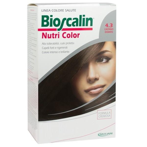 Bioscalin Nutri Color 4.3 Castano Dorato Trattamento Colore