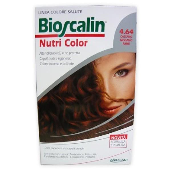 Bioscalin Nutri Color 4.64 Castano Mogano Rame Trattamento Colore