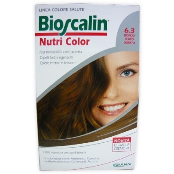 Bioscalin Nutri Color 6.3 Biondo Scuro Dorato Trattamento Colore