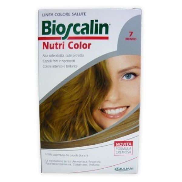 Bioscalin Nutri Color 7 Biondo Trattamento Colore