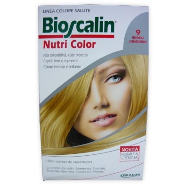Bioscalin Nutri Color 9 Biondo Chiarissimo Trattamento Colore