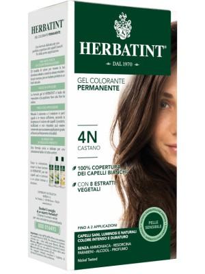 Herbatint Tintura per Capelli Gel Permanente 4N Castano 150 ml