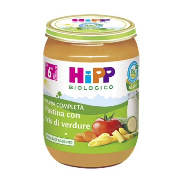 Hipp Bio Pappa Pronta Pastina con Tris di Verdure 190 grammi