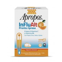 Apropos InFluAlt C Pronta Ripresa 10 Compresse Effervescenti - Integratore di Vitamine