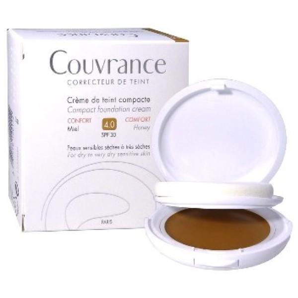 Avene Couvrance Crema Compatta Comfort Colorata Miele 10gr