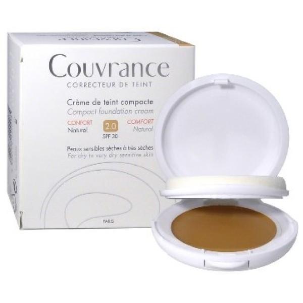 Avene Couvrance Crema Compatta Comfort Colore Naturale 10gr