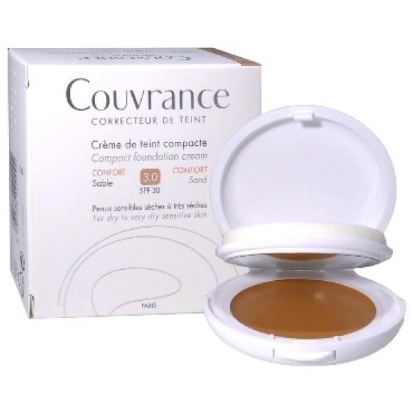 Avene Couvrance Crema Compatta Comfort Colorata Sabbia 10gr