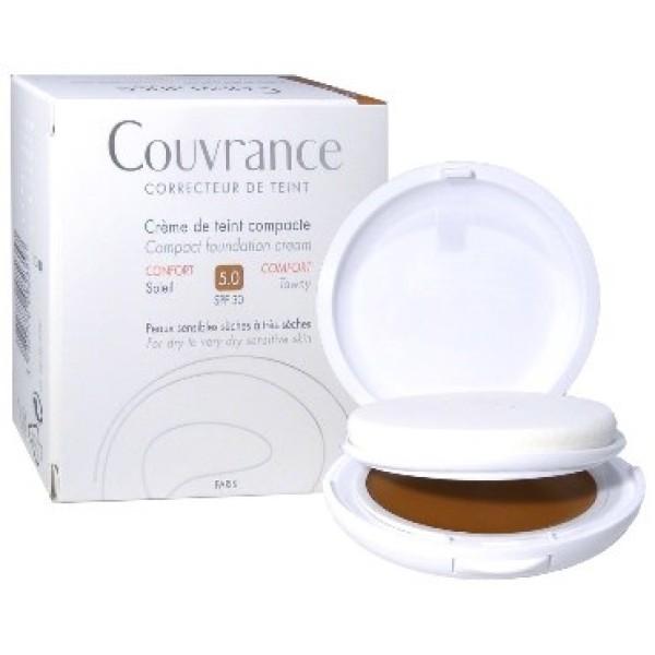 Avene Couvrance Crema Compatta Comfort Colorata Sole 10gr