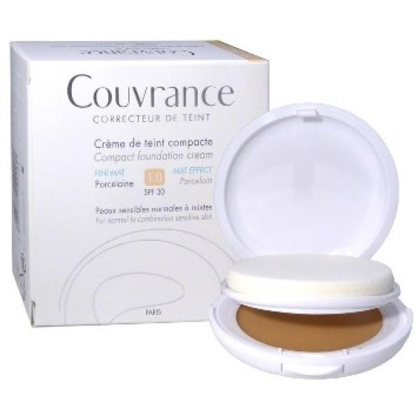 Avene Couvrance Crema Compatta Colorata Porcellana 10gr