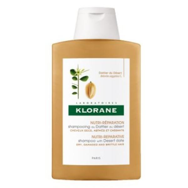 Klorane Dattero del Deserto Shampoo Nutriente Ristrutturante 400 ml