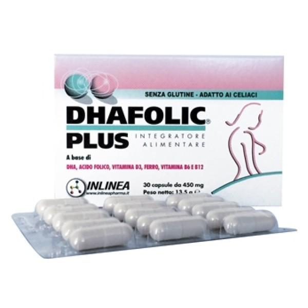 Dhafolic Plus 30 Capsule - Integratore Acido Folico