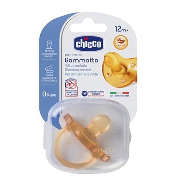 Chicco Physio Soft Gommotto Ciuccio in Lattice +12m