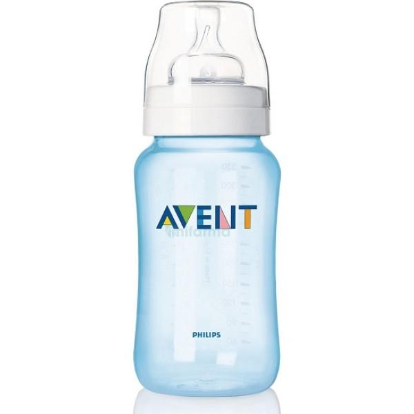 Avent Biberon Azzurro Natural +3 Mesi 330 ml