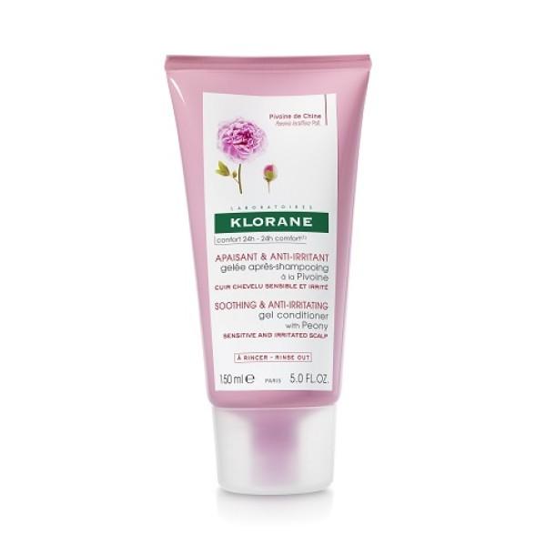 Klorane Peonia Gel Dopo Shampoo Lenitivo Cuoio Capelluto Irritato 150 ml