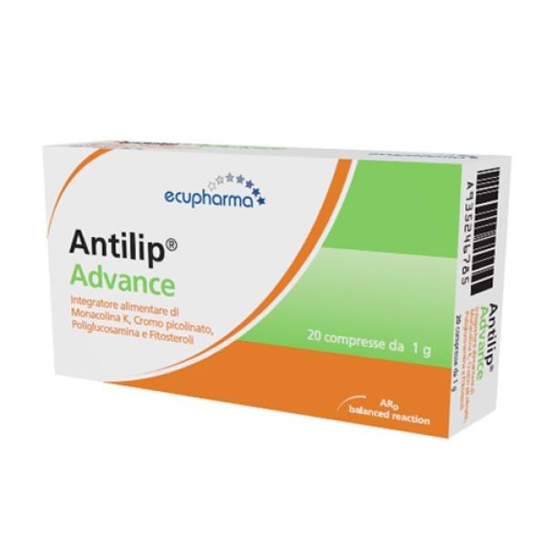 Antilip Advance 20 Compresse - Integratore Alimentare