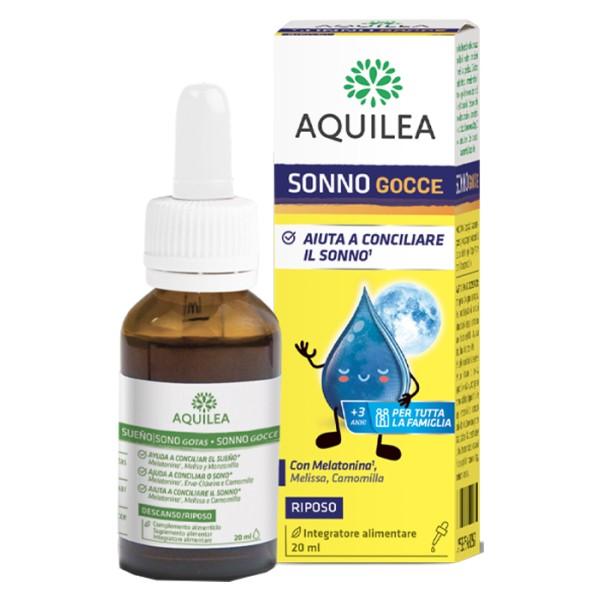 Aquilea Sonno Gocce 20 ml - Integratore Rilassante