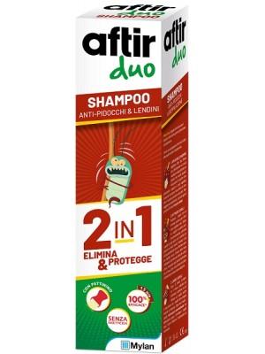 Aftir Duo Shampoo Antipidocchi Doppia Azione 100 ml