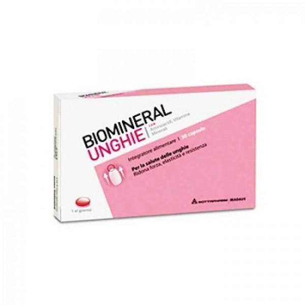 Biomineral Unghie Integratore Rinforzante 30 Capsule
