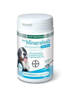 Bayer Neo Mineralsalz 220 grammi - Integratore Reintegrante di Minerali per Cani