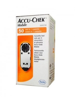 Accu-Chek Mobile Cassetta di Ricarica 50 Test
