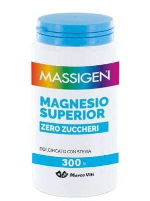 Massigen Viti Magnesio Superior Zero Zuccheri 300 grammi - Integratore Alimentare
