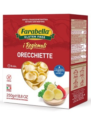 Farabella I Regionali Pasta Orecchiette Senza Glutine 250 grammi