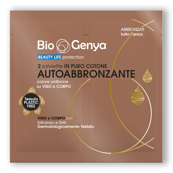 Biogenya Salviette Autoabbronzanti 2 pezzi
