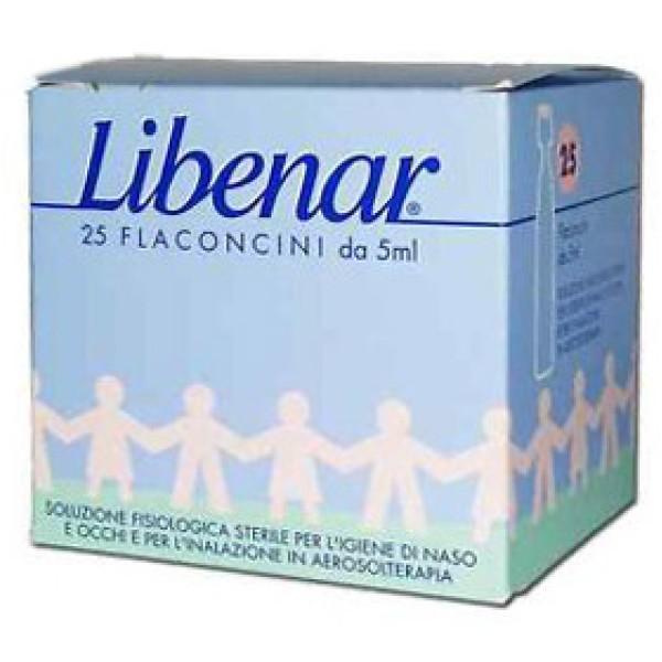 Libenar Soluzione Fisiologica Sterile 25 Flaconcini