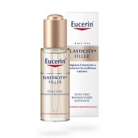 Eucerin Elasticity + Filler Olio Viso Rinnovatore Satinante 30ml