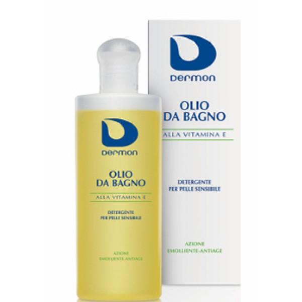 Dermon Olio Doccia Detergente Vitamina E Corpo e Capelli 200 ml