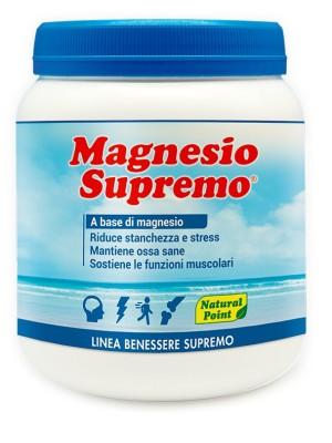 Natural Point Magnesio Supremo Polvere 300 grammi - Integratore Alimentare