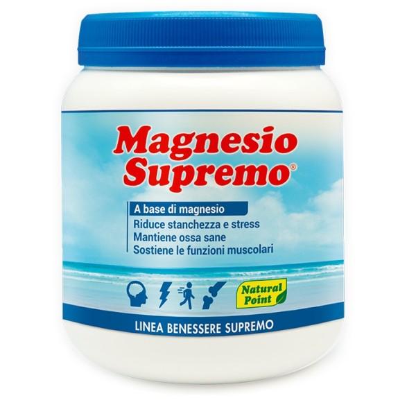 Natural Point Magnesio Supremo Integratore Alimentare in Polvere 300 grammi