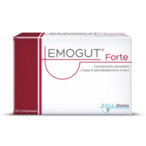 Emogut Forte 20 Compresse - Integratore Alimentare