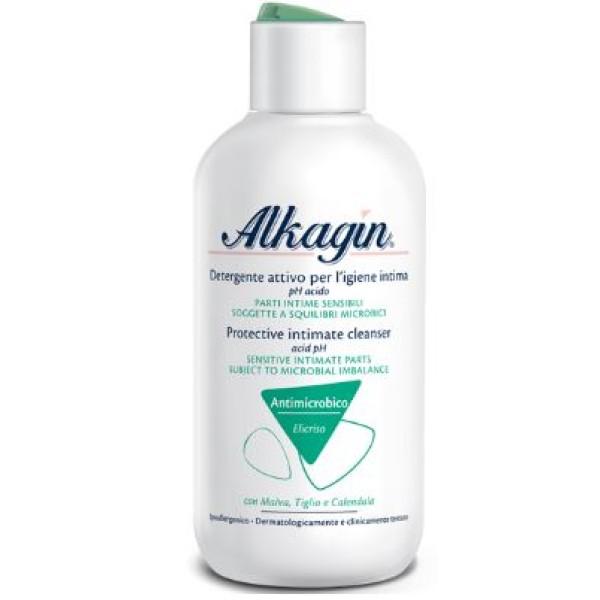 Alkagin Detergente Intimo Antimicrobico con pH Acido 250ml