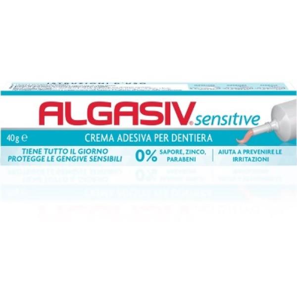 Algasiv Sensitive Crema Adesiva per Dentiera 40 grammi