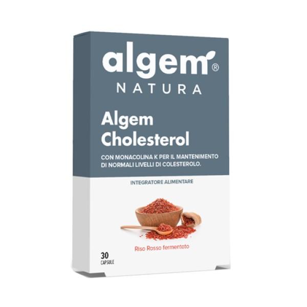 Algem Cholesterol 30 Compresse - Integratore Funzioni Digestive e Epatiche