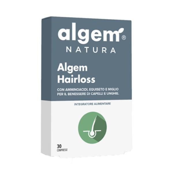 Algem Hairloss 30 Compresse - Integratore per Cuoio Capelluto