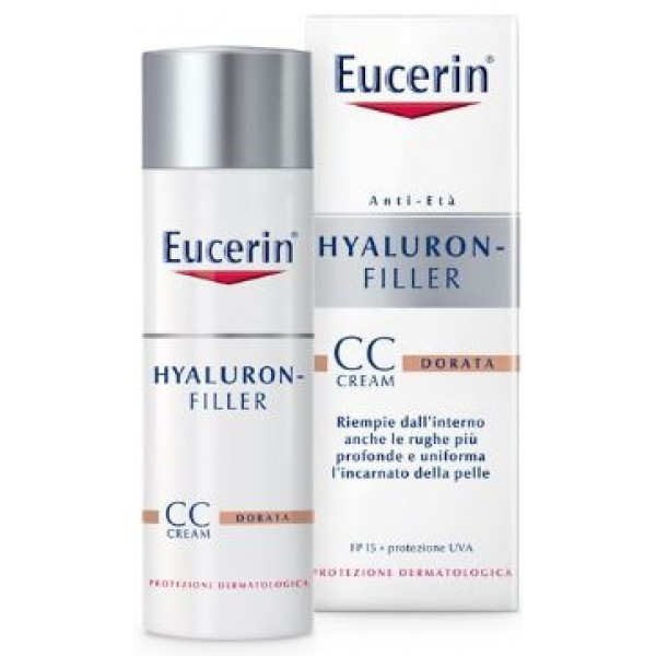 Eucerin Hayluron-Filler Crema Colorata Dorata 50ml